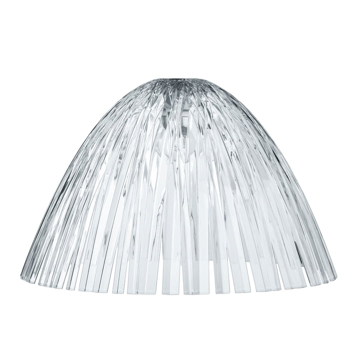The Koziol - Reed Lampshade in transparent clear