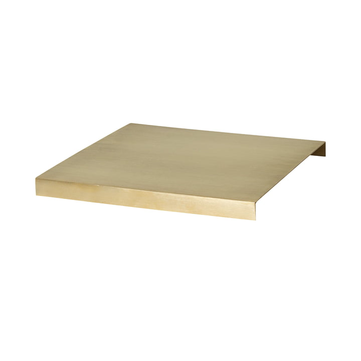 ferm Living - Tray for Plant Box large, brass