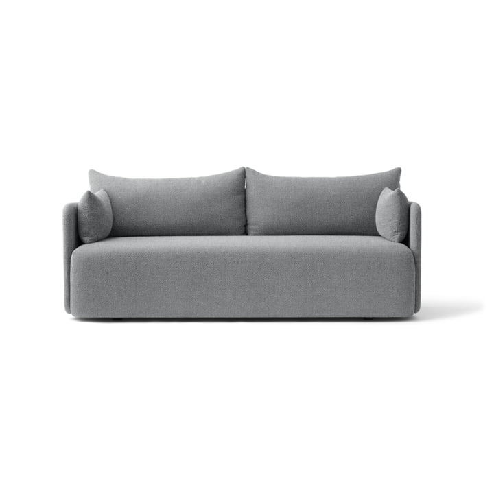 The Menu - Offset Sofa 2 Seater in Light Grey (Hallingdal 130)