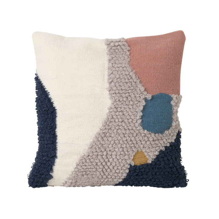 Loop Cushion 50 x 50 cm by ferm Living in Landscape