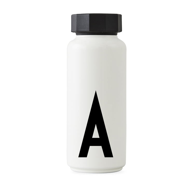 AJ Hot water bottle A from Design Letters in white