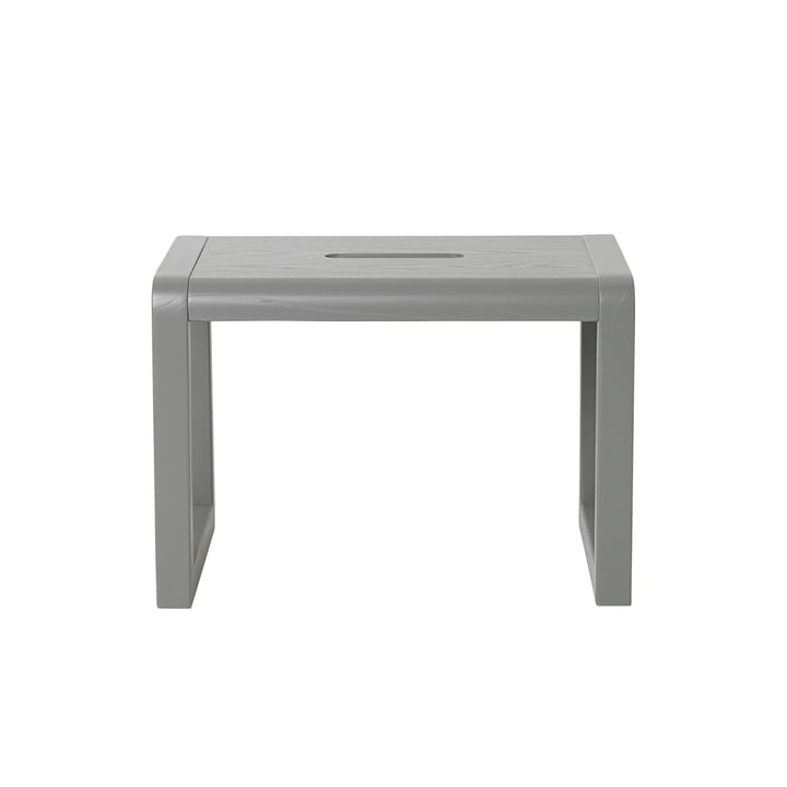 Little Architect Stool by ferm Living in Grey