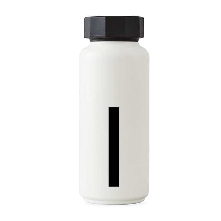 AJ Hot water bottle I from Design Letters in white