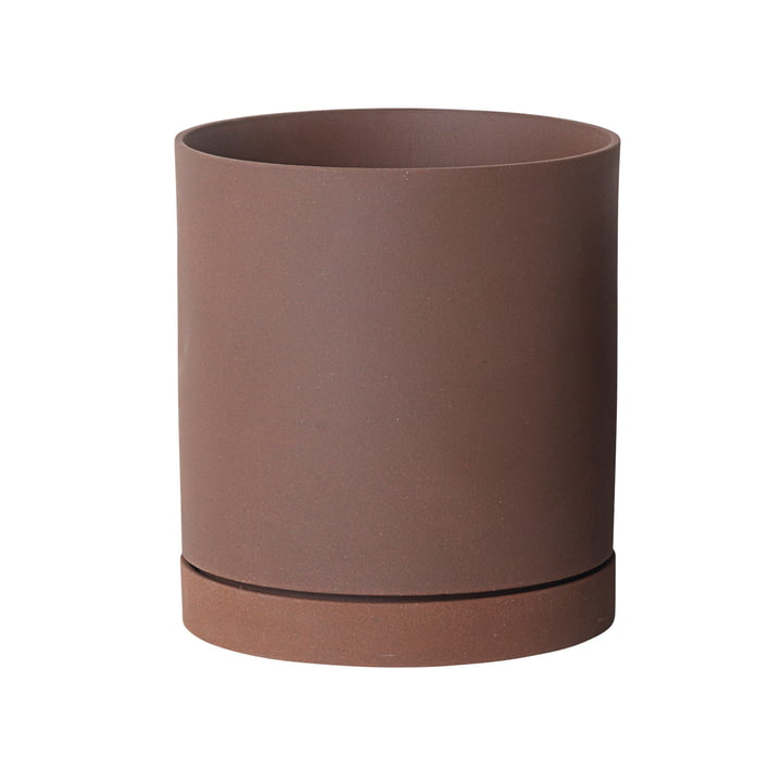 ferm Living - Sekki Pot, Large in Russet