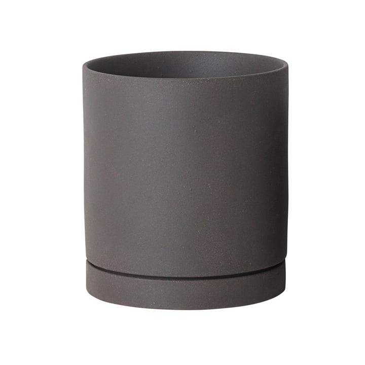 Sekki Pot, Large by ferm Living in Charcoal