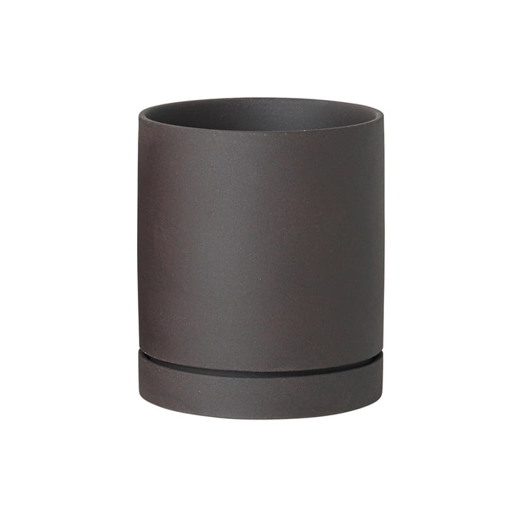 Sekki Pot Medium by ferm Living in Charcoal