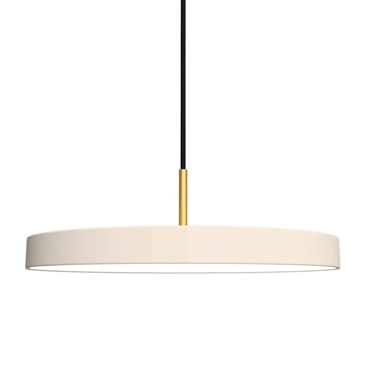 Asteria Pendant Lamp, LED by Umage in Pearl