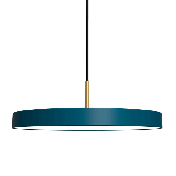 Asteria Pendant Lamp, LED by Umage in Petrol