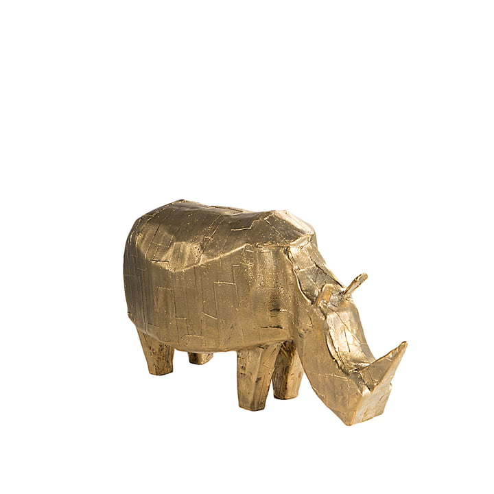 Bronze Rhino by Kai Link for Pulpo