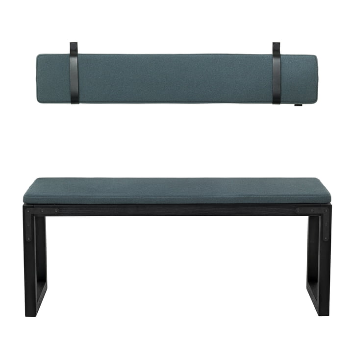 Conekt Bench with Cushions from by Lassen