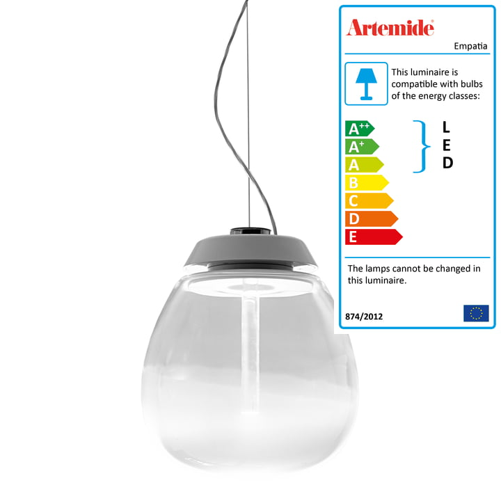 Artemide - Empatia LED Pendant Lamp, white