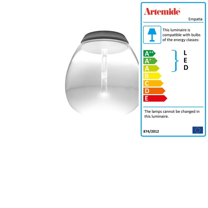 Artemide - Empatia Soffitto LED Ceiling Lamp, white