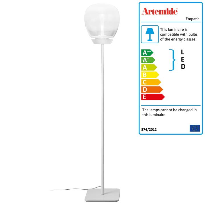 Artemide - Empatia 26 Terra LED floor lamp, white