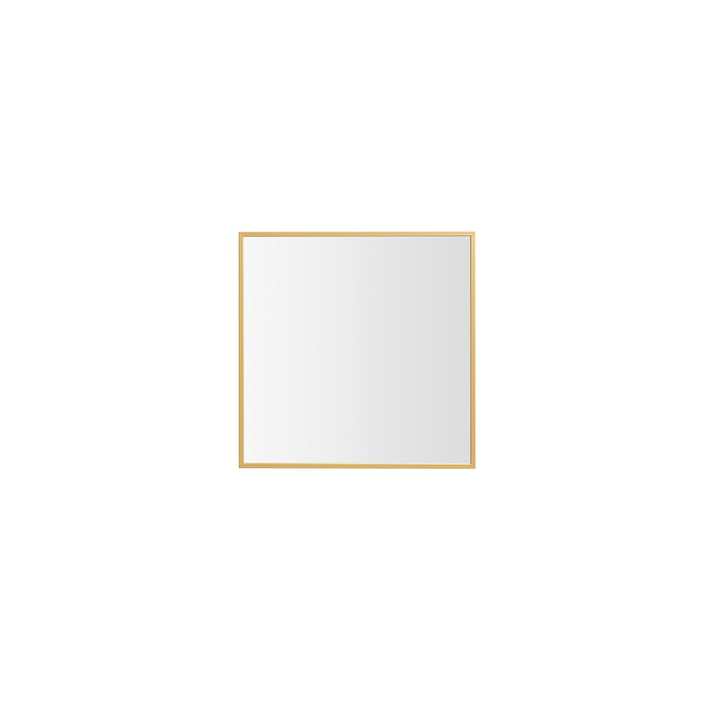by Lassen - View Mirror 29.7 x 29.7 cm, brass