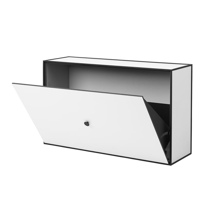 Frame shoe cabinet by Lassen in white