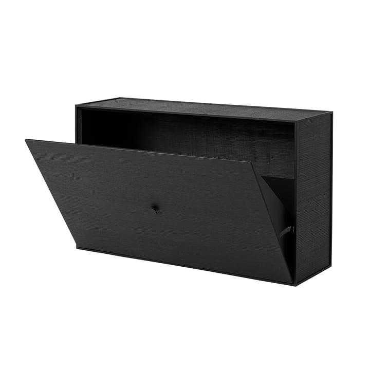 Frame shoe cabinet by Lassen in Ash Black