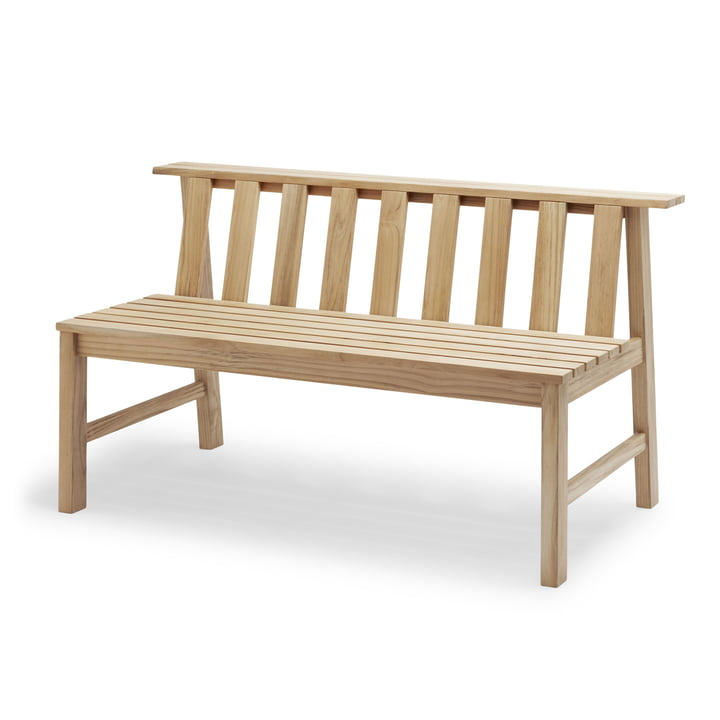 The Skagerak - Plank Bank 144 cm, teak