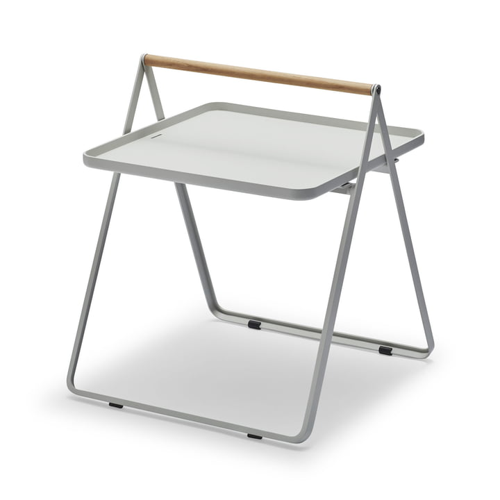 By Your Side Tray Table by Skagerak in Light Grey