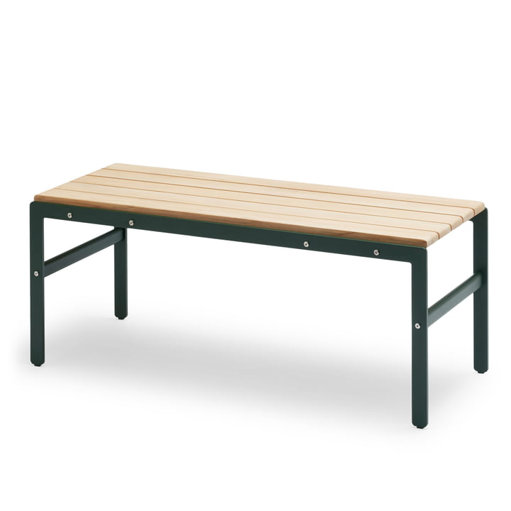 Reform Bench by Skagerak in Teak / Hunting Green