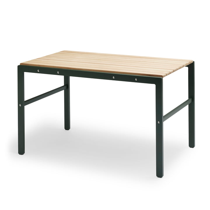The Skagerak - Reform Table in Teak / Hunter Green
