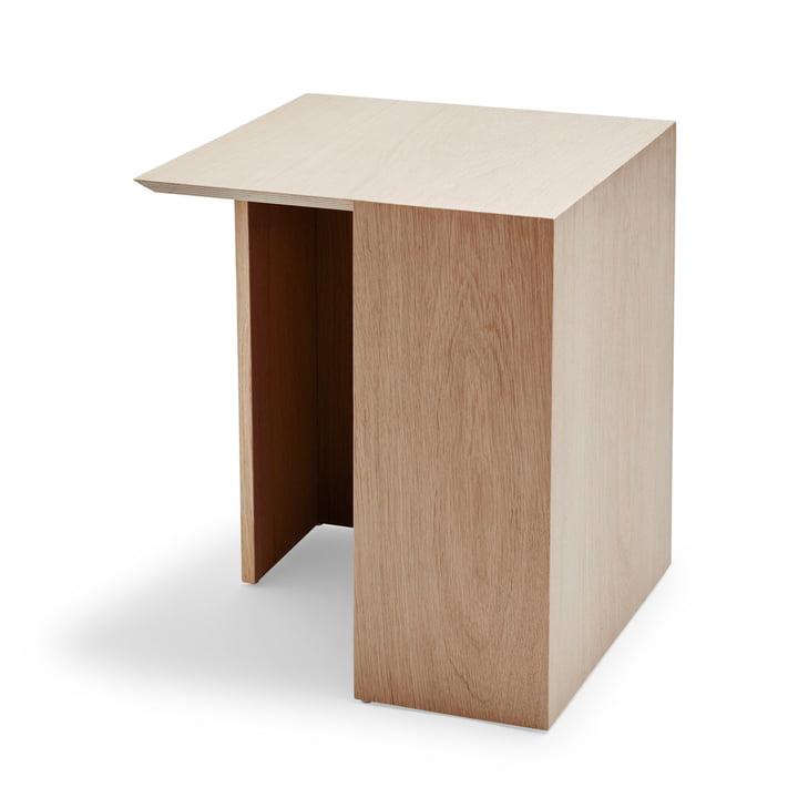 Building side table 40 x 40 cm from Skagerak in oak
