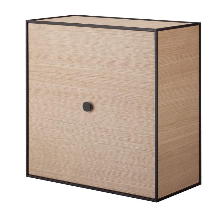 Frame wall cabinet 42 (incl. door) by Lassen in oak