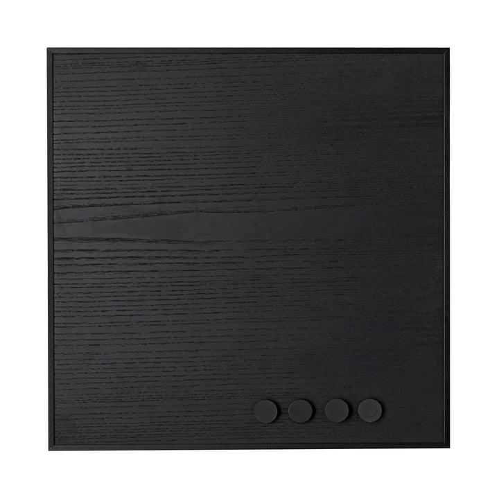 Remind Message Board 42 x 42 cm from byLassen in Black