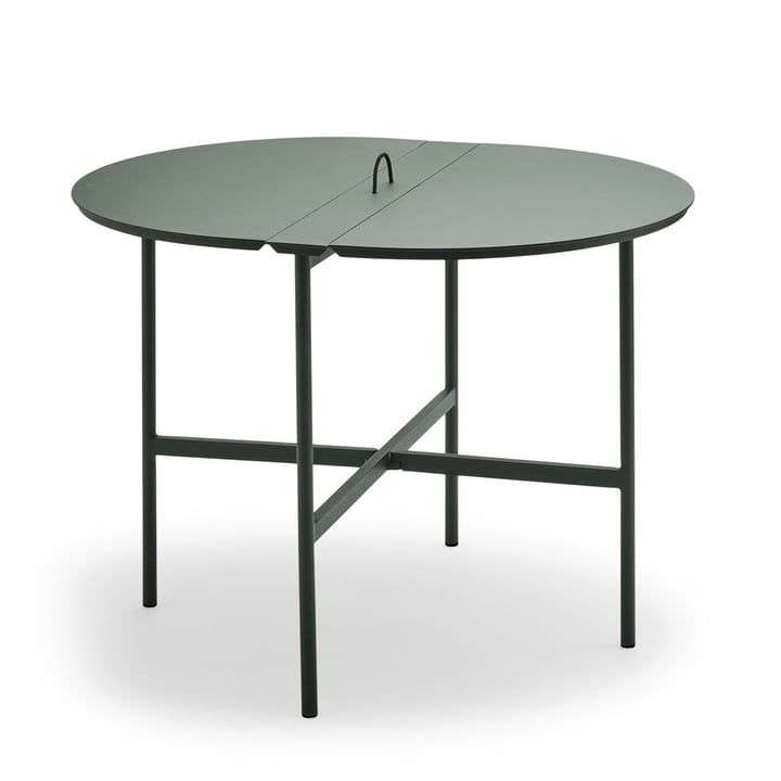 The Skagerak - Picnic Table 105 cm in Anthracite