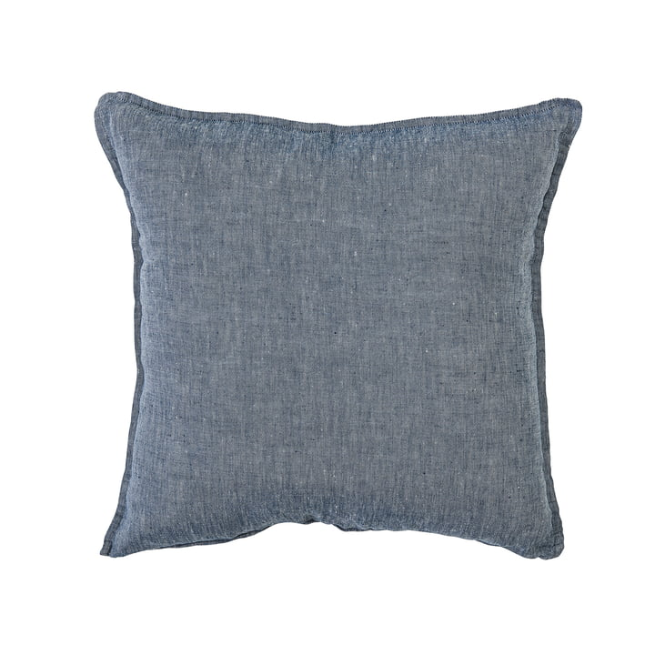 Jersey Cushion Cover 50 x 50 cm by Bloomingville in Blue