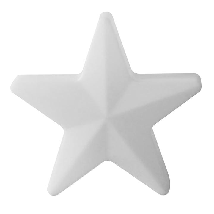 Moree - LED Christmas Star 60, wireless, white translucent