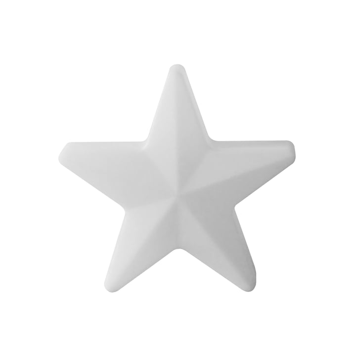 Moree - LED Christmas Star 40, wireless, white translucent