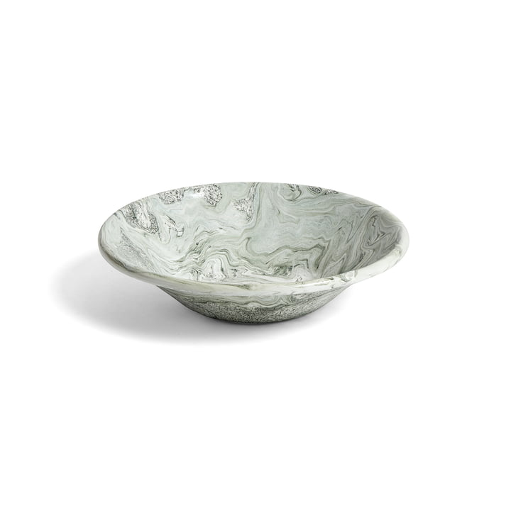 The Hay - Soft Ice Plate, Ø 17 cm in Green