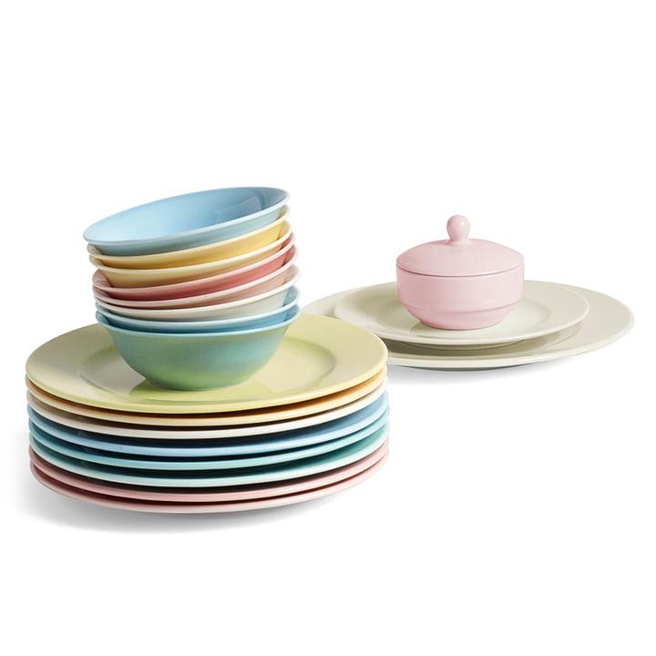 Hay - Rainbow - bowls - plate - sugar bowl