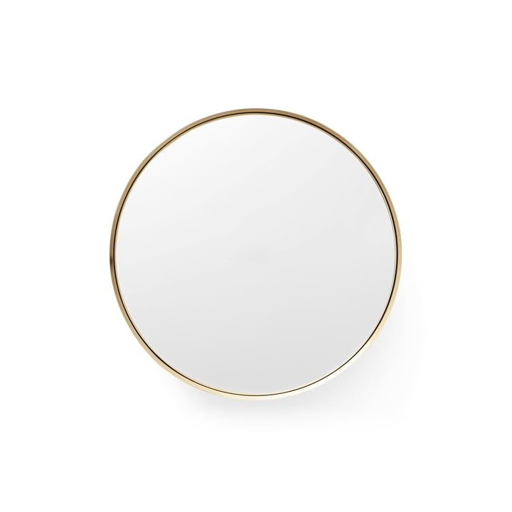 Menu - Darkly Mirror S Ø 20 cm out of Brass
