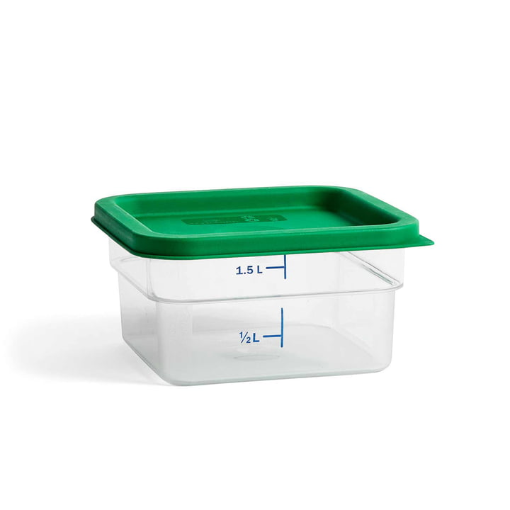 Coloured Lid Container by Hay M by Hay in Green