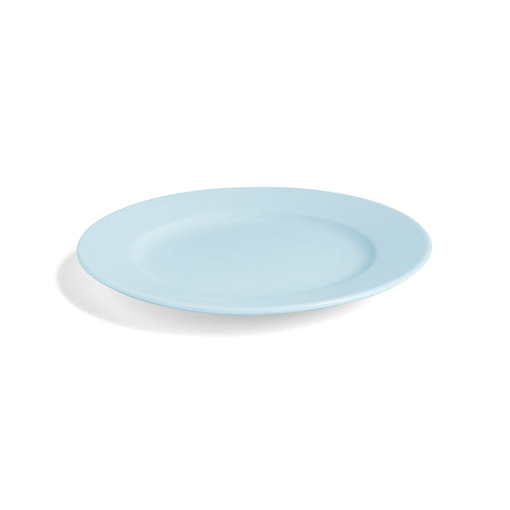 Hay - Rainbow plate S, Ø 20 cm / light blue