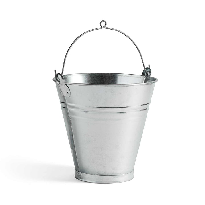 Turkish Handmade Bucket by Hay made of Steel