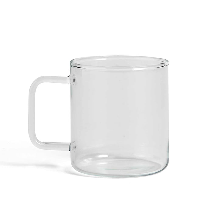 Glass Coffee Mug by Hay in Clear