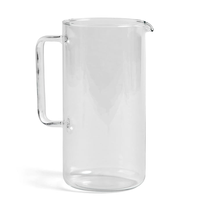 Jug L, H 23.5 cm by Hay in Clear