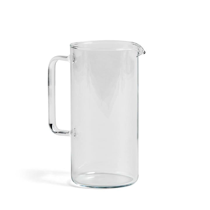Jug L, H 19.5 cm by Hay in Clear