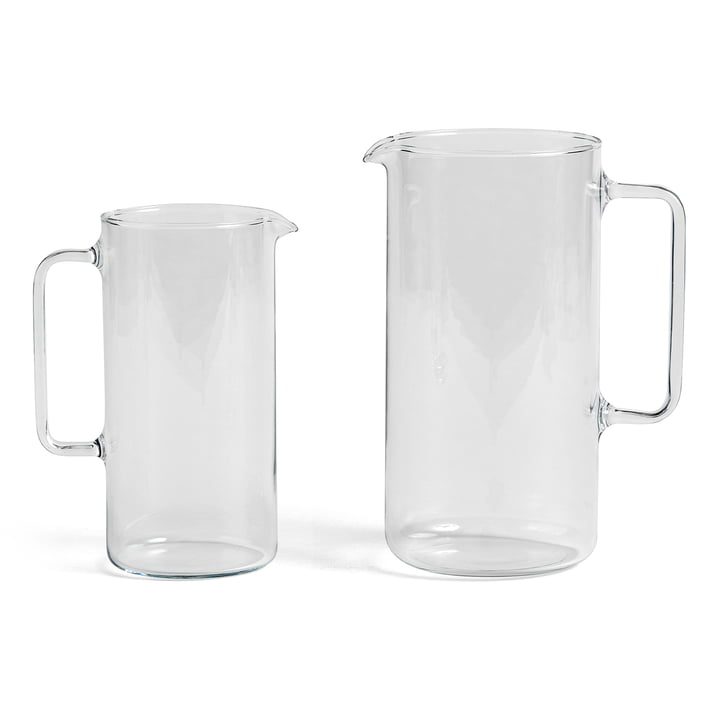 Clear Jugs M and L by Hay