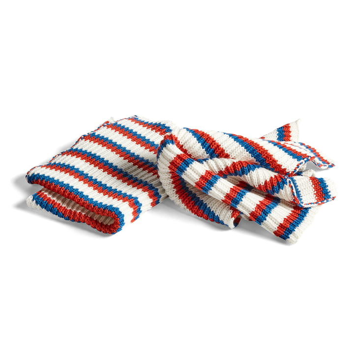 Hay - Kitchen Cloth, Tricolore Blue (Set of 2)