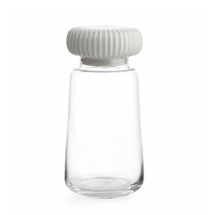 Kähler Design - Hammershøi Storage Glass Jars H 22,5 cm, white