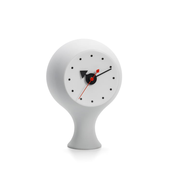 Ceramic Clock Model #1 by Vitra in Light Grey / Blue