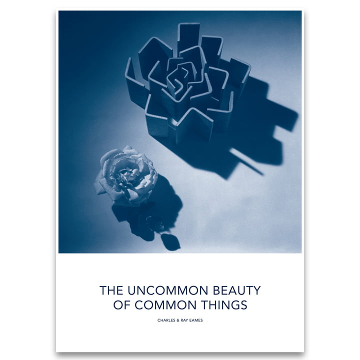 Eames Quotes Poster Beauty by Vitra