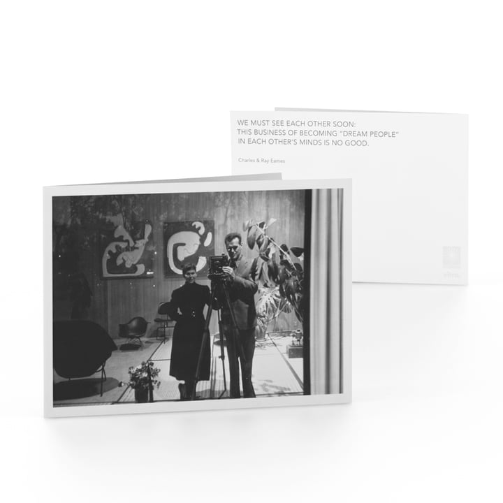 Vitra - Eames Quotes Greeting Card, Dream People
