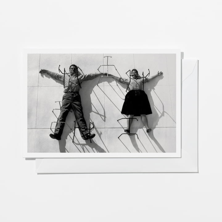 Vitra - Eames Quotes Greeting Card, Love and Discipline