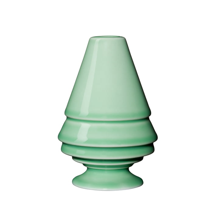 Kähler Design - Avvento Candleholder, H 9,5 cm / green