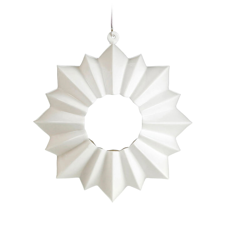 Kähler Design - Stella Tealight Holder Ø 13,5 cm, white