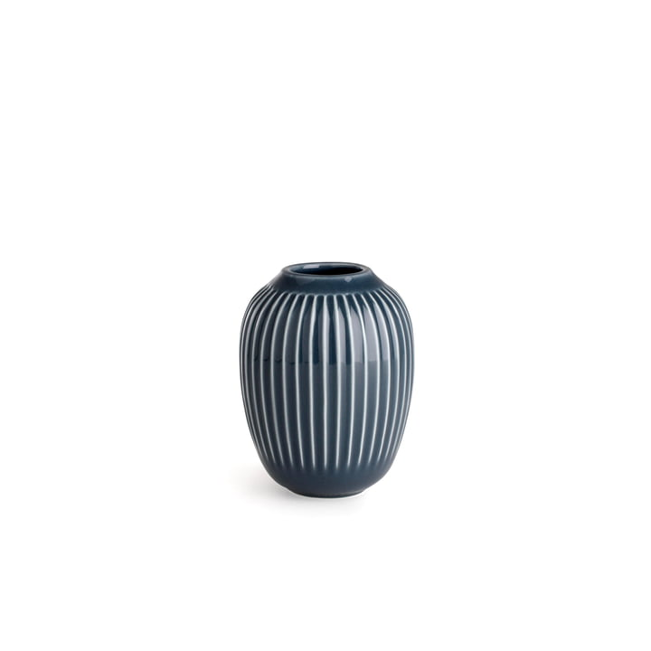 Hammershøi Vase H 10 cm from Kähler Design in Anthracite